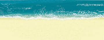 sea clipart beach scene pencil and in color sea clipart beach scene