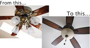 replace ceiling fan with light change ceiling fan light fixture replacing with regular repairing