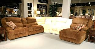 Camel Sectional Sofa Enterprise 2 Piece Reclining Sectional In Camel Chenille Fabric By
