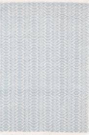 fair isle swedish blue ivory cotton woven rug dash u0026 albert