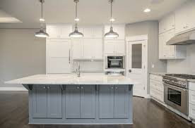 Pewter Kitchen Faucet by This Ldk Custom Kitchen Screams Coastal Enameled Cabinets Pewter