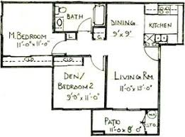 Sorrento Floor Plan Sorrento Villas Apartments 415 Country Club Drive Simi Valley
