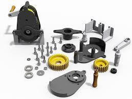 3d printable gearbox cgtrader