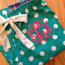 shop monogrammed pajama on wanelo