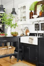 mini kitchen cabinets for sale 11 black kitchen cabinet ideas for 2020 black kitchen