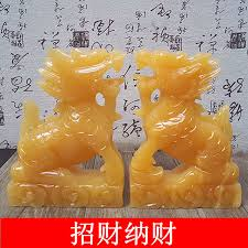 wedding gift opening topaz decoration home town of kylin wealth songzi