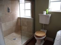 Shower Stalls For Small Bathrooms by Small Bathroom Design With Glass Shower Stall And White Ceramic