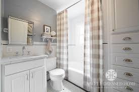 Country Bathroom Shower Curtains Buffalo Check Shower Curtains Country Bathroom