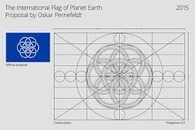 swedish student designs a flag for earth design news paste