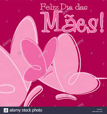 hand drawn portuguese happy u0027s day card in vector format