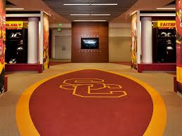 trojan football locker room the john mckay center at usc