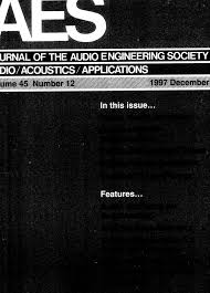 aes e library complete journal volume 45 issue 12