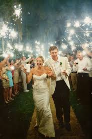 Sparklers For Weddings Wedding How To The Sparkler Exit Floridian Social