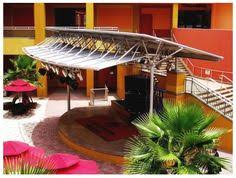 Miami Awnings Entrance Canopy Covers At Universal Studios Orlando Custom Canvas