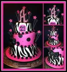 birthday cake photos skull rocker zebra birthday cake