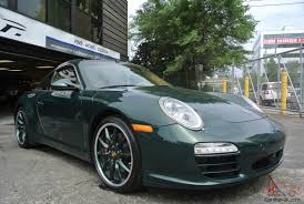 porsche british racing green porsche targa 4s