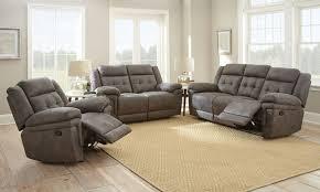 Reclining Sofa Set Reclining Sofa Set Brown S Furniture Showplace
