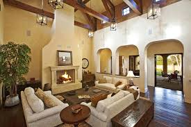 Pretty Vintage Mediterranean Homes Living Room Interior Design - Mediterranean interior design ideas