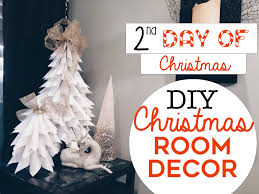 Mini Decorated Christmas Trees 3 Easy Christmas Room Decor Diy U0027s 2nd Day Of Christmas Diy