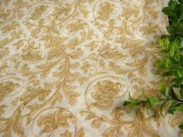 floral printed tissue paper wrap beige flourish leaf pattern print tissue paper sheets