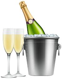 champagne glasses clipart champagne in ice and glasses png clip art image gallery