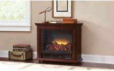 Portable Electric Fireplace Pleasant Hearth Sheridan 31 Inch Mobile Electric Fireplace Cherry