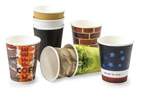 new custom printed paper coffee cups up and smell the profits