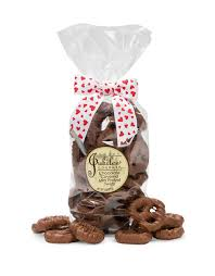 wholesale pretzel rods everyday original chocolate covered pretzel twists gift bag 8