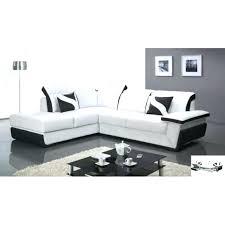 canapé chloé canape design canape noir et blanc design decoration salle de