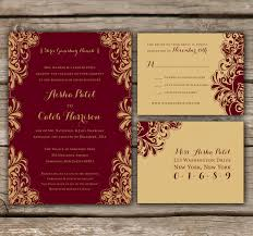 meaning of rsvp in invitation card indian wedding invitations and rsvp printed engagement by chitrap