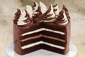 melt and mix choc layer cake
