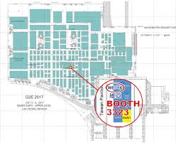 Sands Expo And Convention Center Floor Plan 2017 10 03 05 G2e Of Las Vegas