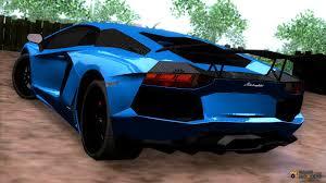 Lamborghini Aventador J Blue - lamborghini aventador carbon tuned for gta san andreas