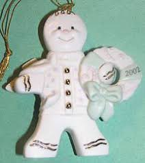 lenox gingerbread ornament 2001 ad picture lenox collections