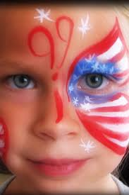 102 best face paint 4th of july images on pinterest face