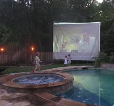 Backyard Movie Theatre by A Little Leaven How To Create An Awesome Backyard Movie Experience