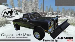 cummins truck wallpaper dodge cummins snow plow turbo diesel lambo mods
