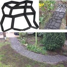Brick Patio Diy Diy Garden Walk Mould Make Driveway Paving Brick Patio Concrete