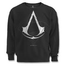 buy assassin u0027s creed spire logo black sweatshirt at loudshop com