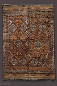 taimani two piece sleeping rug central afghanistan probably ghor