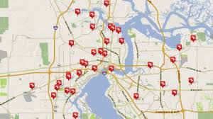 Map Of Jacksonville Florida by 2014 Killings Of Juveniles In Duval County