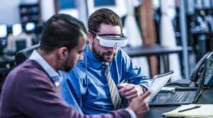 Blind People Glasses Esight Wearable Helps Legally Blind People To See Interview
