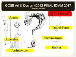Art And Design Gcse Aqa Art And Design Gcse 2017 42012 Unit 2 Exam Powerpoint