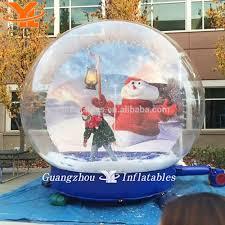 christmas inflatable snow globe christmas inflatable snow globe