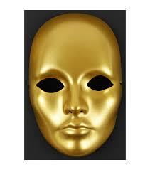 mask it form full face 8 5 gold joann