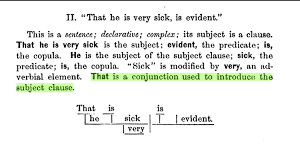 complex sentence whose subject is a clause english language