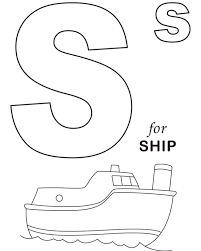 ship coloring pages ship alphabet coloring page ship coloring