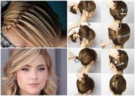 Hochsteckfrisurenen Zum Selber Machen Schulterlange Haare by Hochsteckfrisuren Kurze Haare Mit Anleitung Die Besten Momente