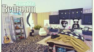 how to build a sims 4 tumblr bedroom youtube