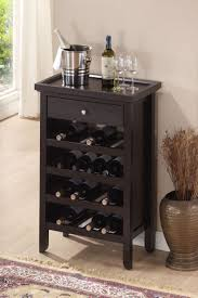 wine kitchen cabinet amazon com roundhill furniture wood wine cabinet with serving
